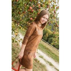 """Robe courte en """"cuir"""""""