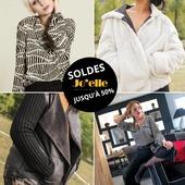Ça y est, elles sont enfin là... les SOLDES 🤩🤩🤩 Faites vous plaisir avec des vêtements de qualité à petit prix 🧥👗👖  #soldes2021 #remisesexceptionnelles #prixdoux #frenchstyle #joelleboutique #islesurledoubs