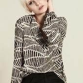 Un incontournable de la saison : la blouse imprimée aux couleurs de l'automne. . . . . . #imageoftheday #style #frenchstyle #pretty #modefemme #newco #impriméabstrait #couleurkakietsafran #viscose #blouse #fashion #instastyle #shoponline