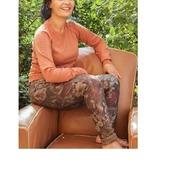 Pourquoi pas un jean imprimé pour un look tendance 👖🌺👍  #lookdujour #instalove #modeaddict #couleurchoco #impriméfleuri #reversible #ecommerce #boutiqueenligne #idéelook #boutiquejoelle